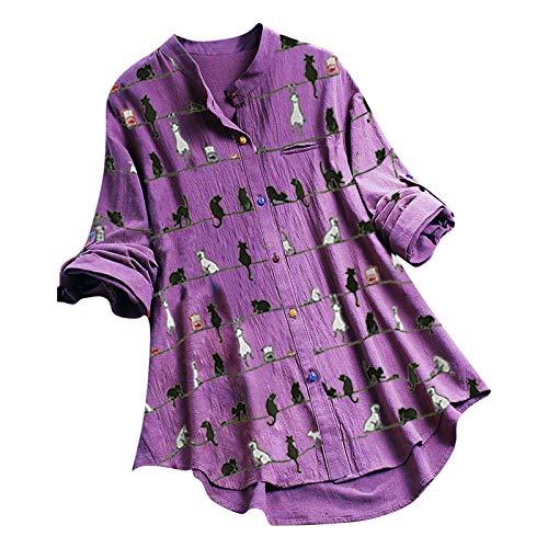 Zegeey Damen Einfaches Kleider Basic...