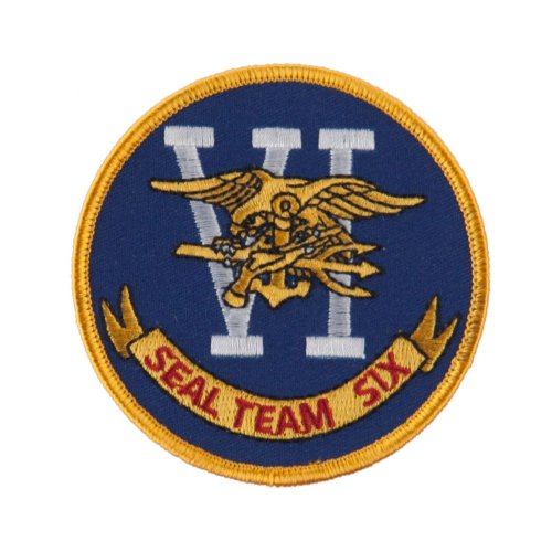 Navy Seal Team Embroidered Military Patch - Seal Team 6 OSFM