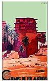 Poster Algerien, Aures, Reproduktion, Format Size, 50 x 70