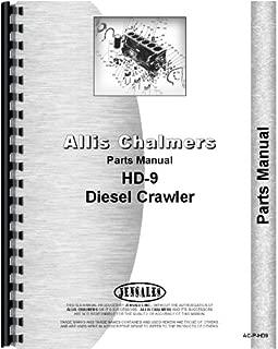 Allis Chalmers HD9 HD9B HD9F HD9G Crawler TS9 Tractor Shovel Parts Manual