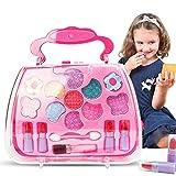 Liamostee Princess Toys Ensemble d'outils de maquillage pour fille Valise cosmétique Jeu de simulation Cadeau pour enfants