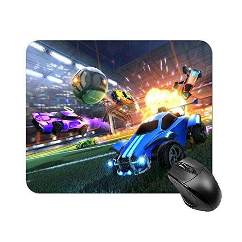 Multi-Size Rocket League Mouse pad Gaming Mouse pad Rubber Mouse Pads Waterproof and Non-Slip Mouse pad for Computer Laptop Home Office