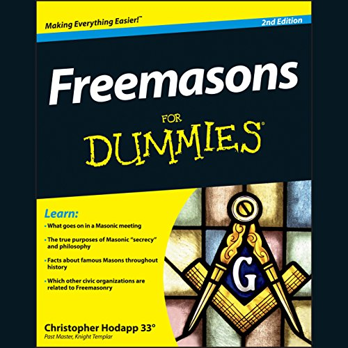 Freemasons for Dummies, 2nd Edition audiobook cover art