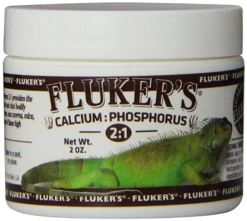 Fluker's 73007 2:1 Calcium to Phosphorus Reptile Dietary Supplement, 2-Ounce