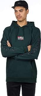 vans dark green hoodie