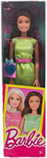 Barbie Mattel Year 2015 Friends Series 12 Inch Doll - TERESA (DGX63) in Green Dress with Pink Belt and Blue Heart Accessory