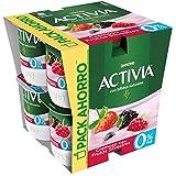 Activia Cremoso Sabor Frutos Silvestres 0% M.G. 8x120 g