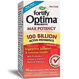 Nature's Way Primadophilus Optima Max Potency 100 Billion Active Probiotics...