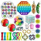 TAIPPAN Fidget Toys Set Pas Cher,29 Pack de Jouets sensoriels Bon marché pour Les Enfants Adultes, Outils de soulagement du Stress et Anti-anxiété Kill Time