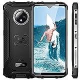 OUKITEL WP8 Pro Robust Smartphone, 6,49'' Bildschirm Android 10 IP68 / IP69K Wasserdichtes Outdoor Handys ohne Vertrag, Octa-Core 4 GB + 64 GB, 16 MP Dreifachkamera, 5000 mAh Akku, NFC GPS