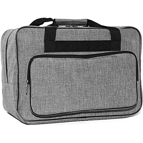 Portable Sewing Machine Carrying Case (Grey)