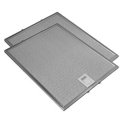 Geeignet für Bosch / Siemens / Neff / Constructa (2 St.) Metall-Fettfilter von Allspares 353110 / 00353110