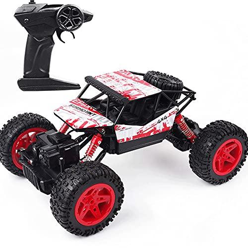 LQZCXMF Tracción En Las Cuatro Ruedas Control Remoto Coche Escalada Vehículo Todoterreno Drift Racing Truck Toy Boy Full Power RC Car Fast Es Un Regalo De Cumpleaños para Niños