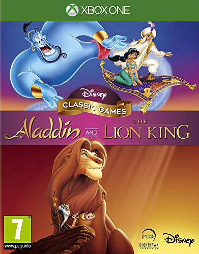 Disney Classic Games - Aladdin and The Lion King pour Xbox One [Importación francesa]