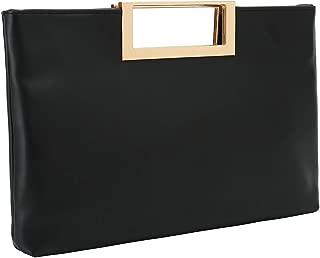 Charming Tailor Fashion PU Leather Handbag Stylish Women Convertible Clutch Purse