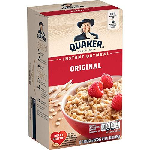 Quaker, Instant Oatmeal, 12 Ct, 11.8oz