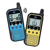 VTech KidiTalkie 6 en 1, Walkie Talkie, envía Mensajes y Juega con una conexión Segura, Mantener Las distancias al Hablar (3480-518567)
