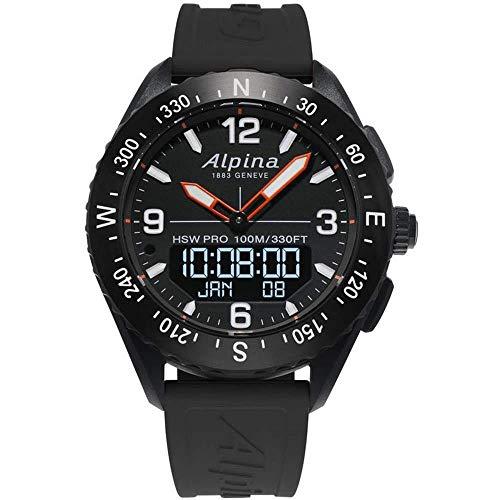 Alpina Hybrid-Smartwatch AlpinerX AL-283LBB5AQ6
