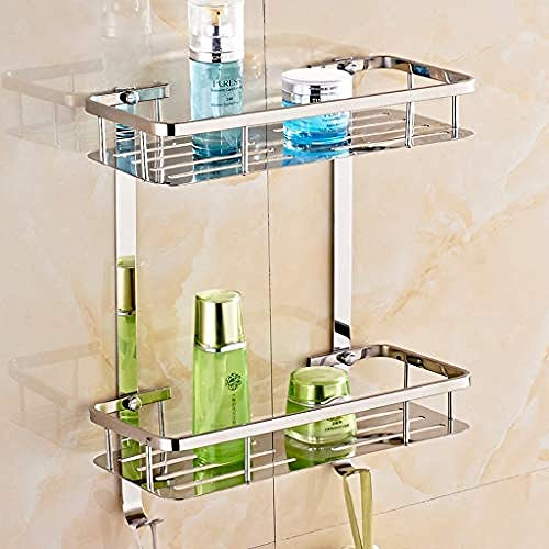 GRATIS 2e Verdieping Badkamer Rack Grote capaciteit douchebak gemaakt van roestvrij staal voor hotels keuken