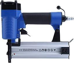 QWERTOUY Combinación clavadora de Aire Grapadora neumática Grapadora clavadora Clavo Recto Pistola de Clavos Gas