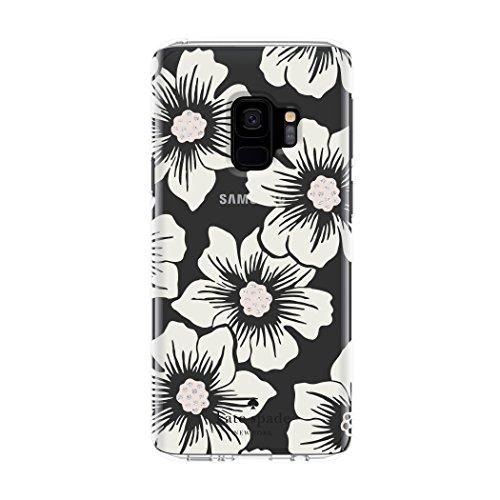 kate spade New York Schutzhülle Hartschalen Schutzhülle für Samsung Galaxy S9–Multi Malve Floral Klar/Creme mit Steinen