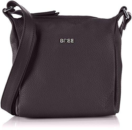 BREE Nola 1, black, ladies' handbag grained 206900001 Damen Henkeltaschen 18x6x20 cm (B x H x T), Schwarz (black 900)