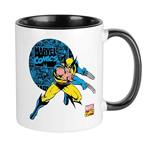 N\A Taza del círculo de Wolverine Taza de café única, Taza de café