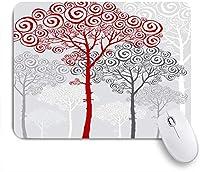KAPANOUマウスパッド ツリーエレガントな松の高級飾り自然庭園抽象セットモミの背の高いデザイン ゲーミング オフィ良い 滑り止めゴム底 ゲーミングなど適用 マウス 用ノートブックコンピュータマウスマット