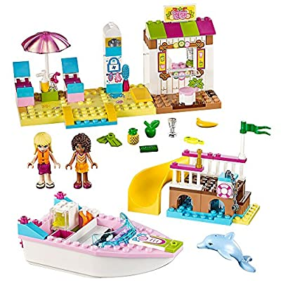 LEGO Juniors Andrea & Stephanie's Beach Holiday 10747 Toy for 4-Year-Olds