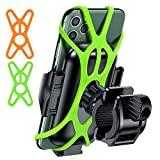 VICSEED Metal Bike Phone Mount Holder Quick Release Phone Holder for Bike Universal Handlebar Clamp Motorcycle Phone Mount for Bicycle ATV Fit for iPhone 12 SE 11 Pro Max XS Samsung Note20 S20 GPS All