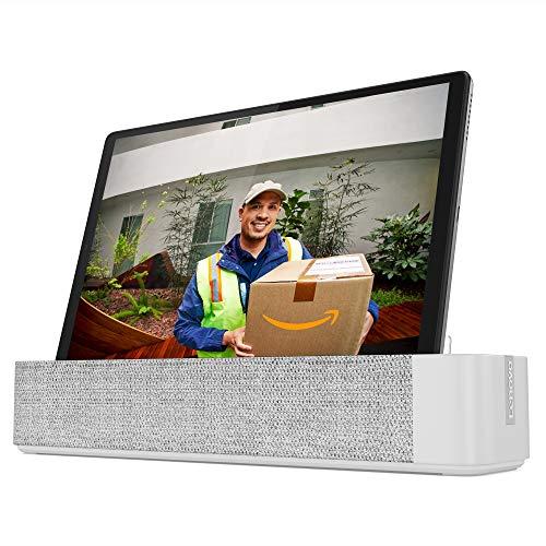 """Lenovo Smart Tab M10 FHD Plus (2e gén.) tablette tactile 10.3"""" avec Alexa (MediaTek Helio P22T 8Coeurs, 4 Go de RAM, eMMC 64 Go, Android, Wifi, Bluetooth) + Station d'accueil / Enceinte connectée"""