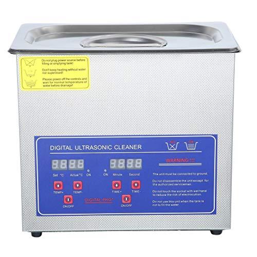ROXTAK 10L Ultraschallreinigungsgerät Ultraschallreiniger Ultrasonic Cleaner mit Heizung+ Korb