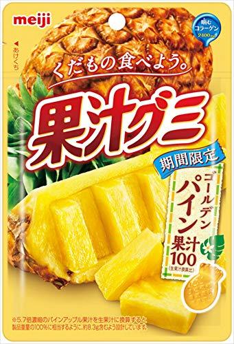 明治 果汁グミゴールデンパイン 47g ×10袋