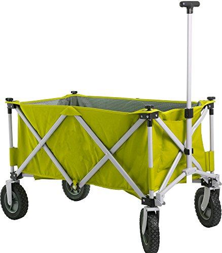 Brunner Bollerwagen Transportkarre Handwagen Cargo Lime faltbar
