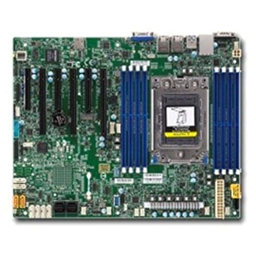 Supermicro MBD-H11SSL-I-O Socket SP3 System on Chip DDR4 SATA3 USB 3.0 V & 2 GbE/ATX Motherboard