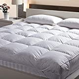 AVI Small Bed Imported Microfiber Mattress Padding/Mattress Topper with Single Bed 300TC Sateen