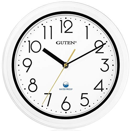 Guten 11 Inch Indoor Outdoor Wall Clock