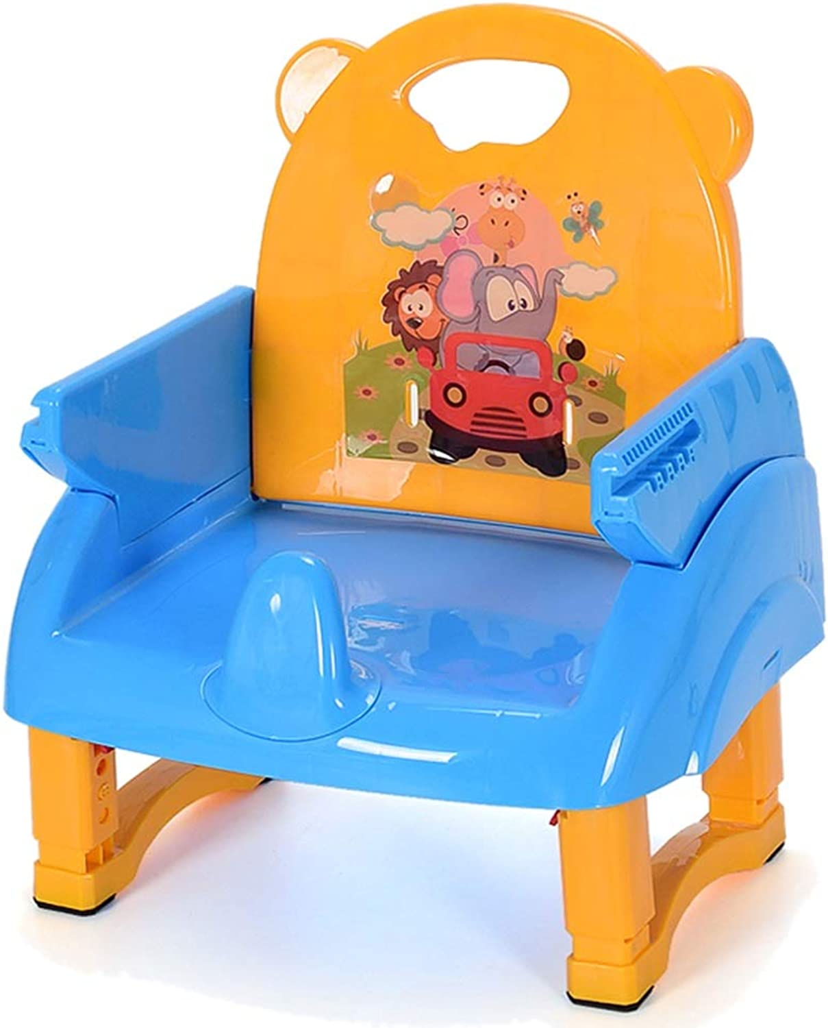 LXLA - Portable Foldable Booster Feeding Seat for Baby and Toddlers Dining