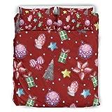 WellWellWellwell - Juego de ropa de cama con 3 piezas con cremallera, incluye 1 funda nórdica y 2 fundas de almohada, 229 x 229 cm, color blanco