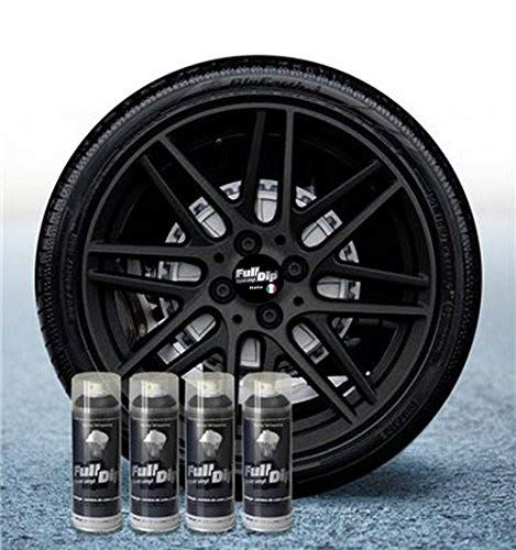 Sophisticauto Dip Lit Negro Metálizado Mate - Lote de 4 Sprays 400ml