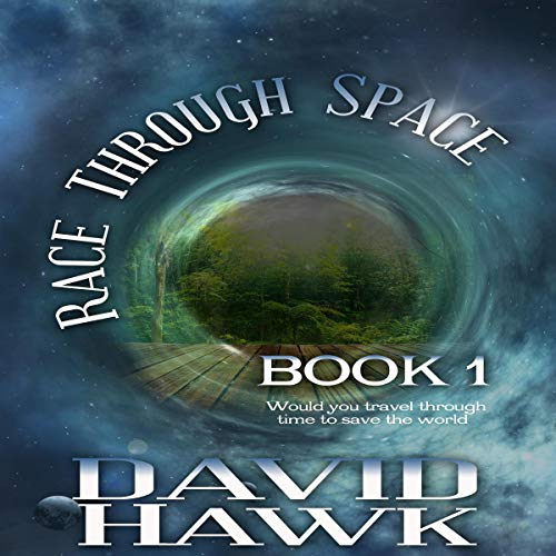Race Through Space audiobook cover art
