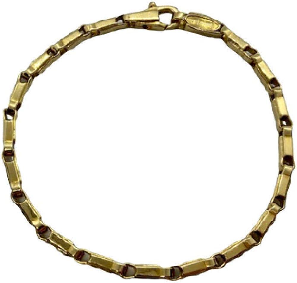 Chimento,bracciale maison per uomo in oro giallo 18 k/750(16,5) 1B00388ZZ5210