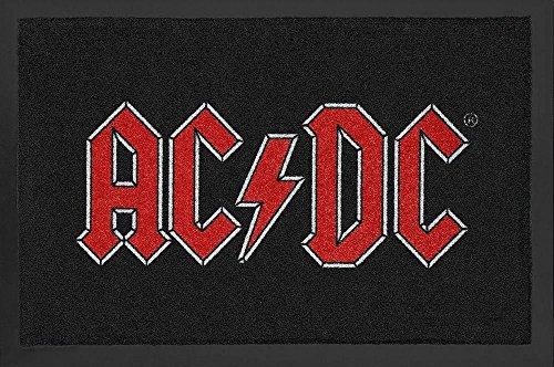 AC/DC deurmat met logo.