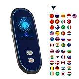 SDRFSWE WiFiTraductor Electronico, Portátil 2.4Pantalla Táctil Traductor Inteligente Bidireccional D...