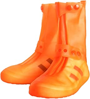 MEIGUIshop Rain Boots - Waterproof and Rainproof Non-Slip Thick PVC Shoe Covers