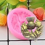 LNOFG DIY Orchidee Silikonform Zucker Fudge Kuchen Dekorationswerkzeug Kuchen Praline Schimmel