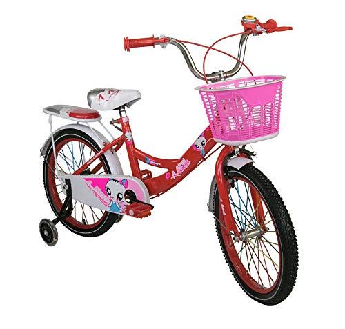 Airel Biciclette per Bambini | Bicicletta con rotelle e Cestino | Bici Bimba | Bicicletta per Bambini 14, 16, 18, 20 Pollici | Bicicletta per Bambine 3-7 Anni