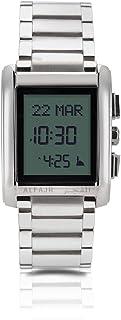 الفجر ساعة رسمية رجال رقمي ستانلس ستيل - WS-06S