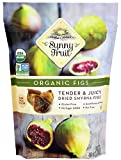 ORGANIC Turkish Dried Figs - Sunny Fruit - 40oz Bulk Bag | Tender & Juicy Figs - NO Added Sugars, Sulfurs or Preservatives | NON-GMO, VEGAN, HALAL & KOSHER