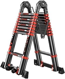 Extension ladder Multi-Purpose Aluminium Telescoping Ladder Extension Extend Portable Ladder Foldable Ladder premium exten...